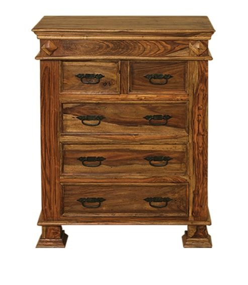 Elements Tirupur 2 Over 3 Drawer Chest