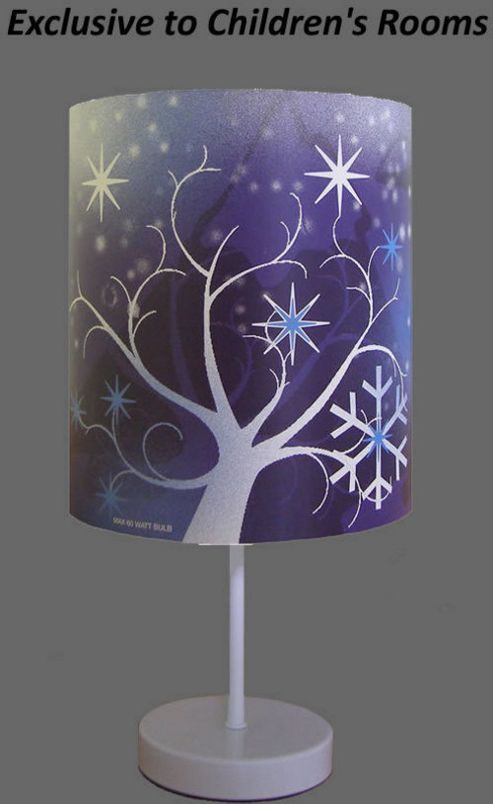 Buy Frozen Wonderland Bedside Lamp Exclusive From Our
