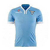 2013-14 Lazio Authentic Home Match Shirt - Blue
