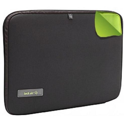 Techair Slim Slipcase (Green/Grey) for 15.6 inch Notebooks