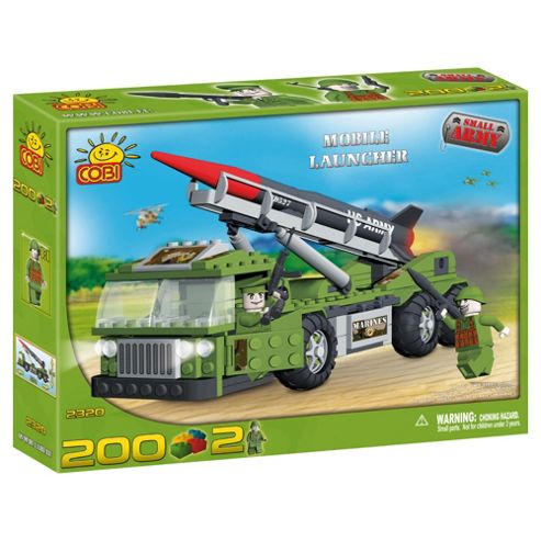 Cobi Small Army 200 Pcs Mobile Launcher