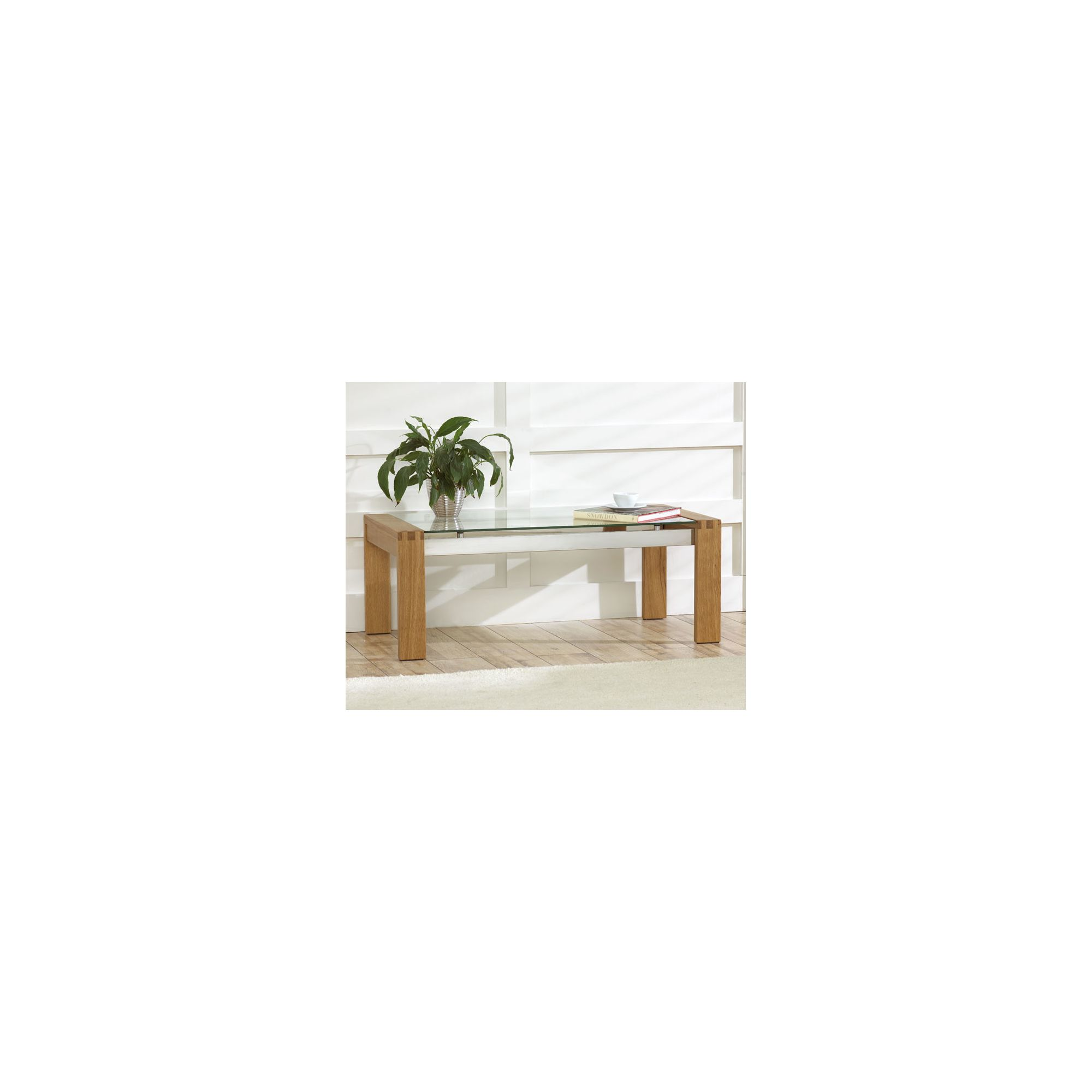 Mark Harris Furniture Roma Coffee Table - Oak at Tesco Direct