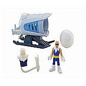 Imaginext DC Super Friends Captain Cold and Ice Cannon Action Figure
