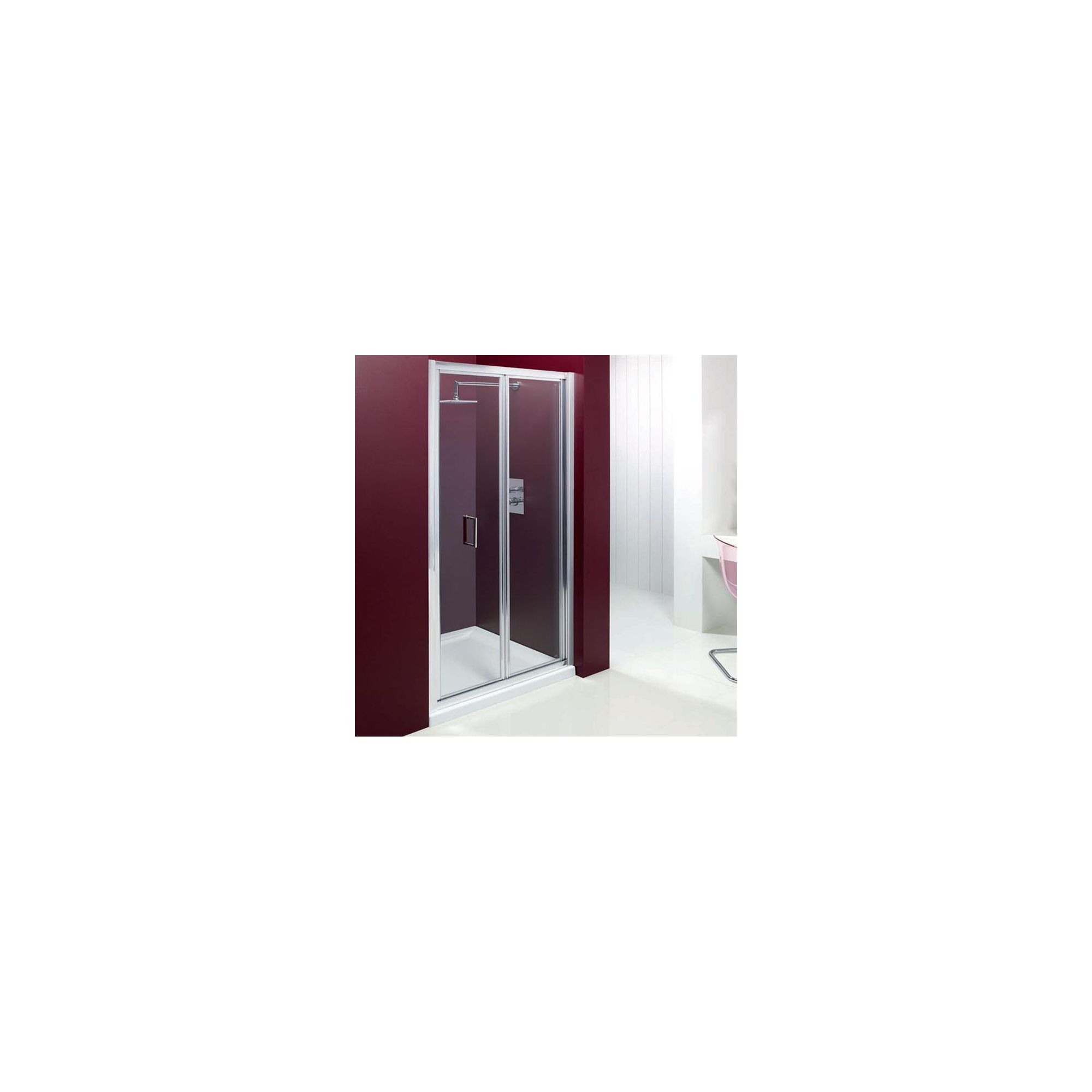 Merlyn Vivid Entree Bi-Fold Shower Door, 900mm Wide, 6mm Glass at Tesco Direct