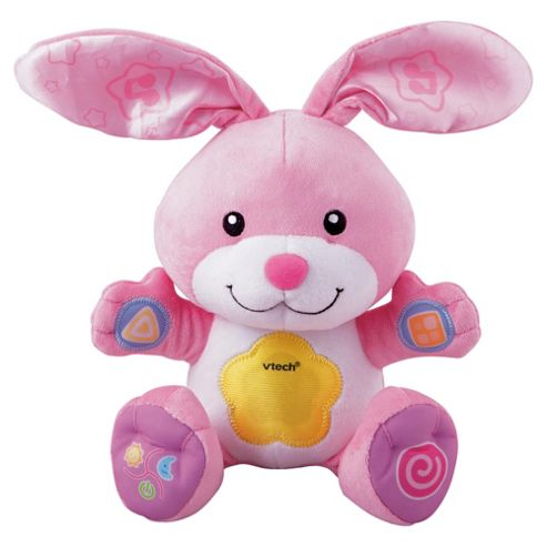 VTech Day & Night Cuddle Bunny Pink