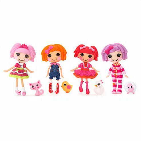 Mini Lalaloopsy Dolls 4 Pack - Set 22