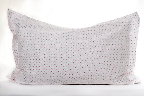 Children's Pillow Case - Pink Spots