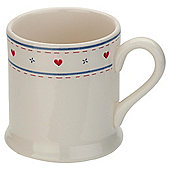 Tesco Haven Earthenware tankard mug