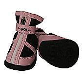 Duggs CP Biker Boot - Pink/Black - SML (6.2cm H x 3.8cm W)