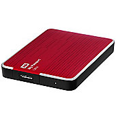 Western Digital My Passport 2TB Portable Hard Drive USB 3.0 External (Metallic Red)