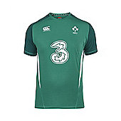 Ireland Rugby IRFU RWC Hybrid Training Tee 2015 -Bosphorus - Green