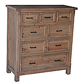 Wiseaction Naples 8 Drawer Chest