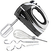 VonShef 300W Hand Mixer - Black