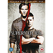 Supernatural Season 6 Part 1 (DVD Boxset)