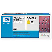 HP 502A LaserJet Toner Cartridge - Yellow