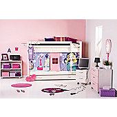 Thuka Trendy Pop Girl Bedroom Set with Ladder