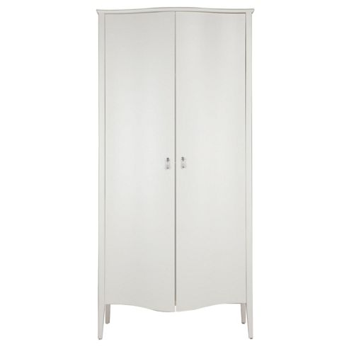 Rochelle 2 Door Wardrobe, Light Cream
