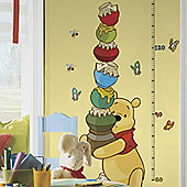 Disney Winnie The Pooh Height Chart Nursery Wall Stickers