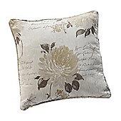 Julian Charles Clara Linen Jacquard Cushion Cover -45x45cm