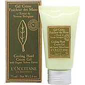 L'Occitane Verbena Cooling Hand Cream Gel 75ml