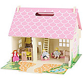 Bigjigs Toys JT123 Heritage Playset Blossom Cottage