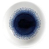 Blue Rain Porcelain Cereal Bowl