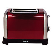 Sabichi Manhattan 2 Slice Toaster in Metallic Red