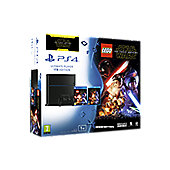 Lego Star Wars + Force Awakens Blu-ray PS4 1TB Console