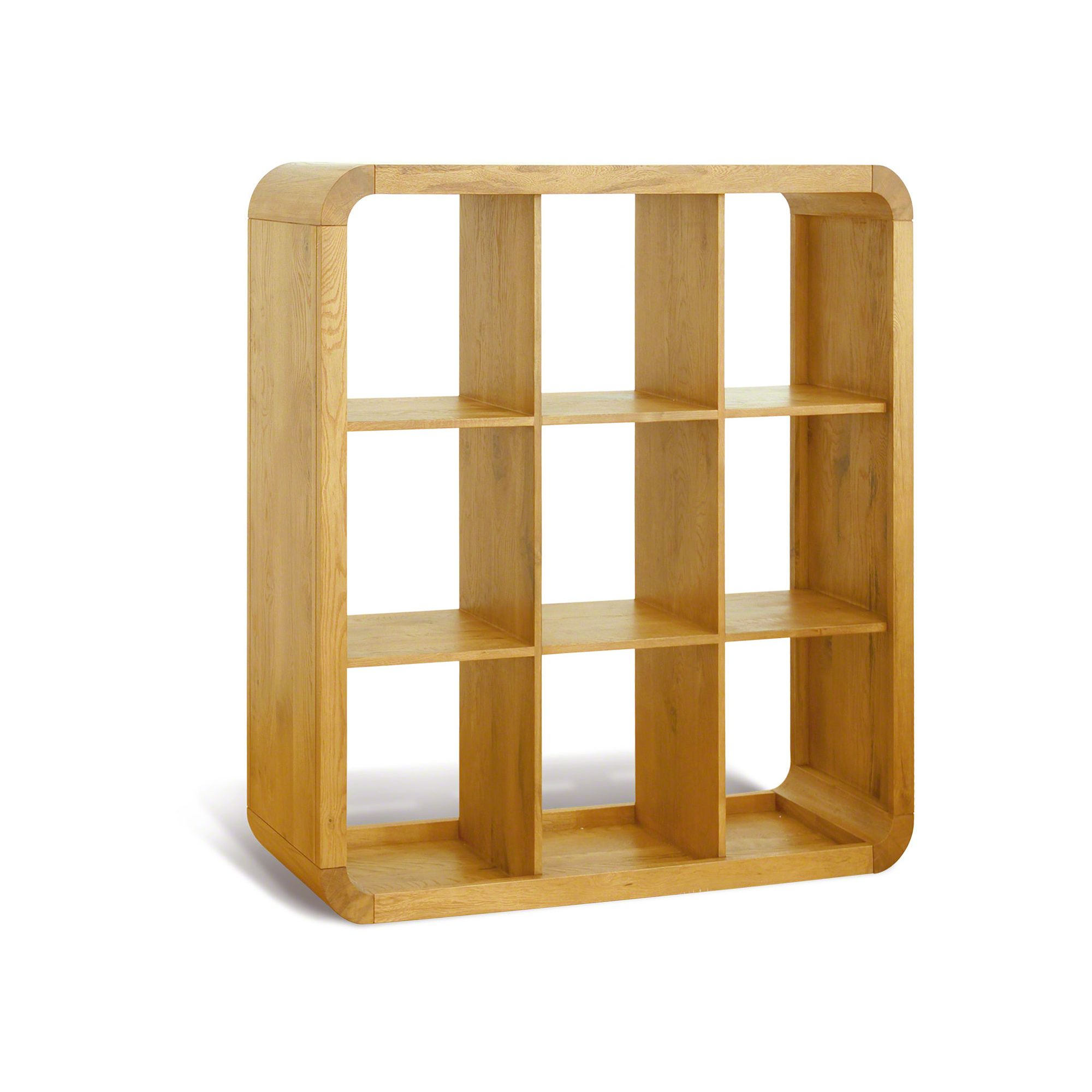 Oceans Apart Cadence Oak Living 9 Hole Shelf Unit at Tesco Direct