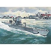 German Submarine Type IIB 1:144 Scale Model Kit - Hobbies
