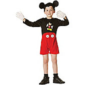 Child Disney Mickey Mouse Costume Toddler