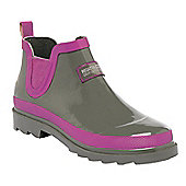 Regatta Ladies Harper Short Wellington Boot - Green