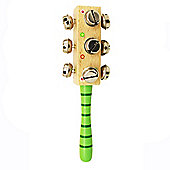 Bigjigs Toys Snazzy Bell Stick (Green Handle)