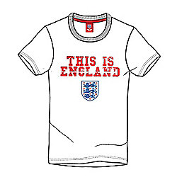 England Football Kids This is England Tee - White