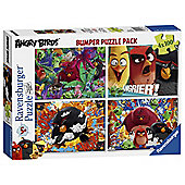Angry Birds 4 x 100 Puzzle