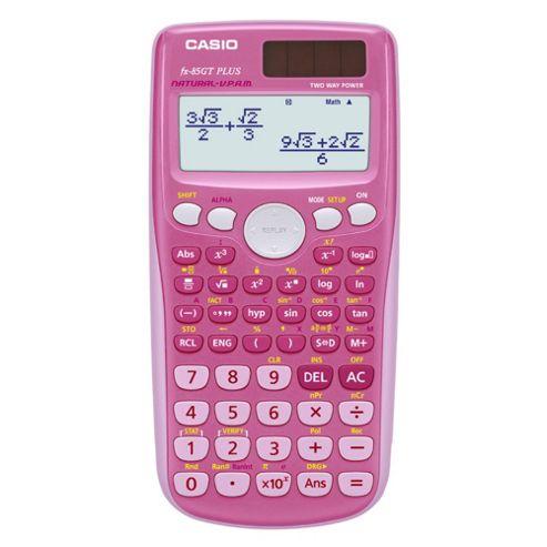 Casio Fx-85 Scientific Calculator, Pink