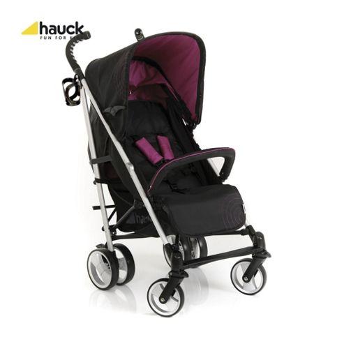 Hauck Spirit Stroller, Caviar/Berry
