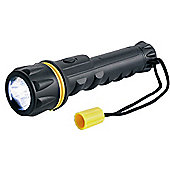 Heavy Duty 3 LED Rubber Torch
