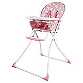 Red Kite Feed Me Compact Highchair, Pretty Kitty