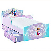 Disney Frozen Toddler Bed with Underbed Storage