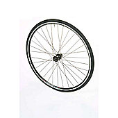 700c Road Front Alloy Silver Nutted Wheel Single Wall