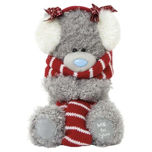 Me To You Tatty Teddy Scarf and Earmuffs Bear