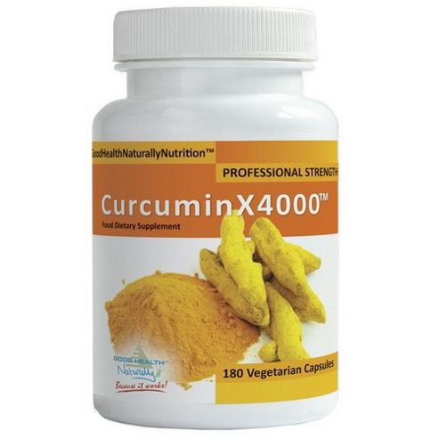Good Health Naturally Curcumin X4000 Capsules