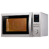Sharp Combination Microwave Oven R982STM 42L, Stainless Steel
