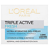L'Oreal Paris Triple Active Fresh Ultra-Hydrating Gel-Cream 50ml