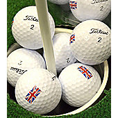 Replay Mens Grade A Titleist Golf Balls (Union Jack)(20)