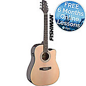 Stagg SA40 Dreadnought Electro Acoustic - Natural