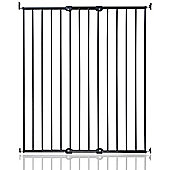 Safetots Extra Tall Screw Fitted Pet Safety Gate Black