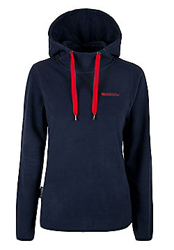 Nolana Womens Fleece Hoodie Lightweight Sweater Sweatshirt Walking Hiking Top - Blue