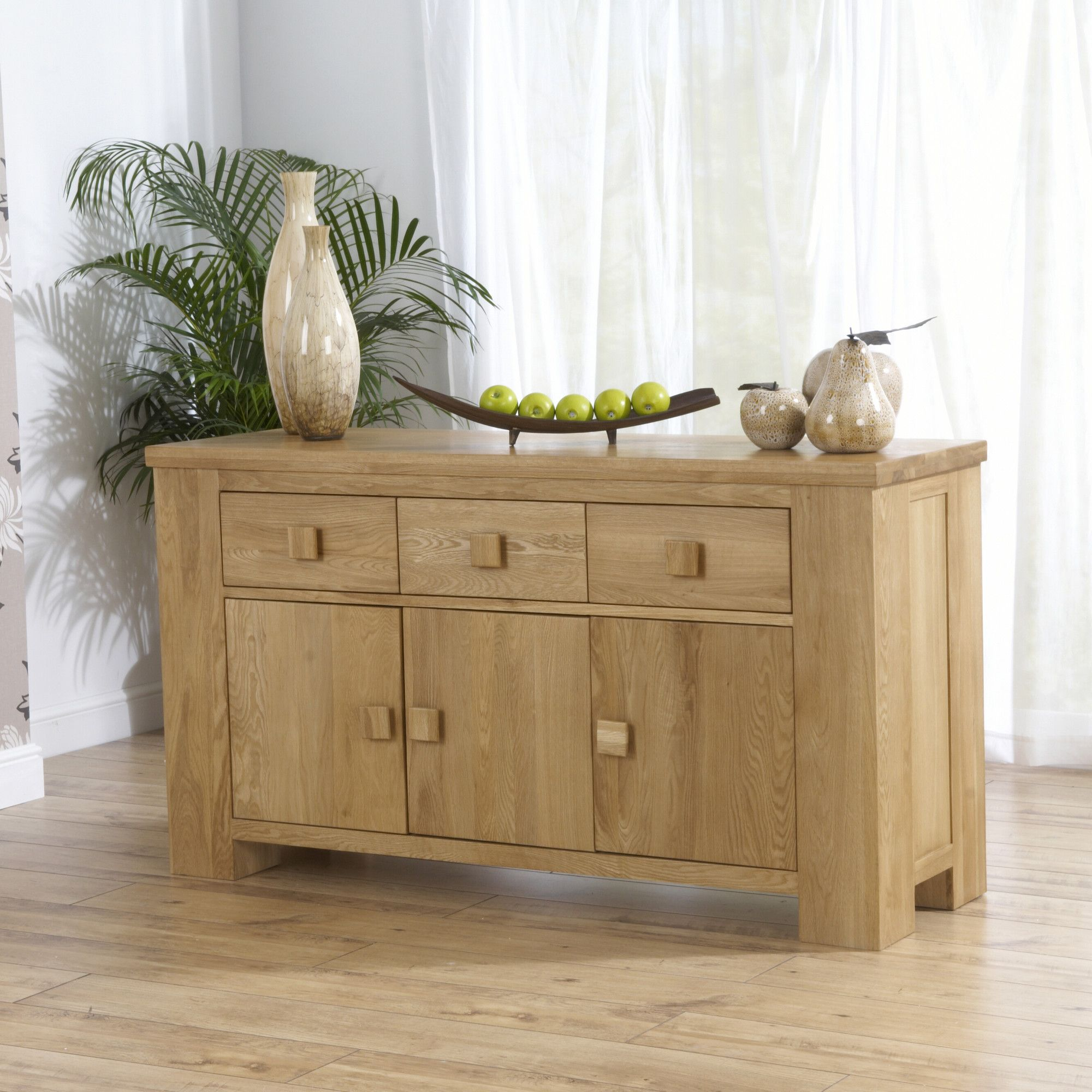 Mark Harris Furniture Barcelona Three Doors Sideboard at Tesco Direct